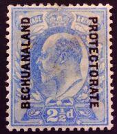 Bechuanaland 1904 Edouard VII Grande Bretagne Surchargé Great Britain Overp. Bechuanaland Protectorate Yvert 25 * MH - Bechuanaland (...-1966)