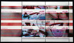 Denmark 2001  MiNr.1281-84  BLOCK 16  ( O )  ( Lot Mappe ) - Danimarca