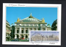 1 -Carte Maximum -- SALON PHIL. AUTOMNE  PARIS   11/2006 -- LISA 0,54 - 2000-09