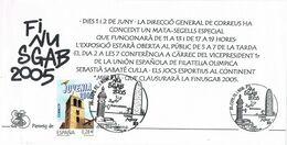 37520. Hojita Informativa BARCELONA 2005. Aguas De Barcelona, FINUSGAB 2005. Torre Agbar - 1931-Aujourd'hui: II. République - ....Juan Carlos I