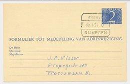Treinblokstempel : Arnhem - Nijmegen D 1956 - Ohne Zuordnung