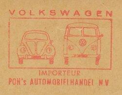 Meter Cut Netherlands 1967 Car - Volkswagen Beetle - Van - Automobili