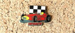 Pin's F1 Alfa Ou Ferrari Pub Sofinauto - EMAIL - Fabricant DEMONS & MERVEILLES - F1