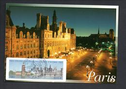 1 -CARTE  Maximum -- SALON  PHILATELIQUE--    PARIS   11/2005 -- LISA 0,48 - 2000-09