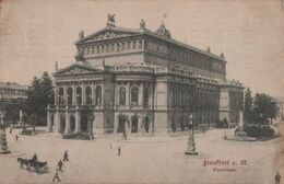 Frankfurt Main - Opernhaus - 1913 - Frankfurt A. Main