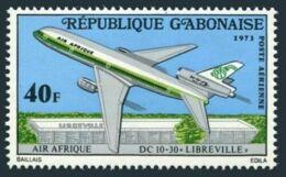 Gabon, 1973, Air Afrique, Airliner, Airplane, MNH, Michel 500 - Gabon (1960-...)
