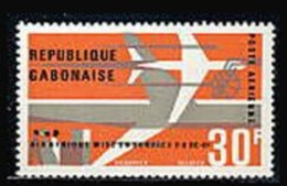 Gabon, 1966, Air Afrique Airliner, Aviation, Airplane, MNH, Michel 253 - Gabon (1960-...)