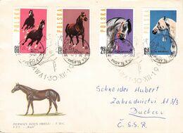 POLAND - LETTER 1963 RUDA - DUCHCOV/CSSR /AS86 - 1944-.... Republik