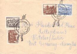POLAND - LETTER 1961 WARSZAWA - WETZLAR/GERMANY /AS90 - 1944-.... Republik