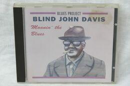 """CD """"Blind John Davis"""" Moanin' The Blues - Blues"""