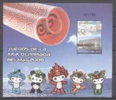 Olympische Spelen  2008 , Colombia  - Blok  Postfris - Verano 2008: Pékin