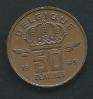 Belgique  50 Centimes 1965 Type Mineur -  Laup 13608 - 1951-1993: Baudouin I