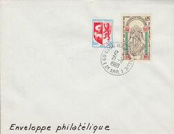 LYON PHILATELIE 2 EME 1969 - Manual Postmarks