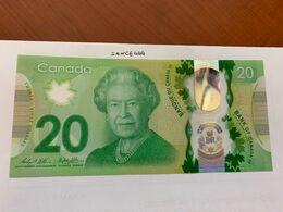 Canada 20 Dollars Polymer Uncirc. Banknote 2015 - Canada