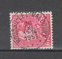 COB 848 Oblitération Centrale BOUSSU-LEZ-WALCOURT - 1936-1951 Poortman