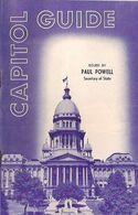 CAPITOL GUIDE, Publié Par PAUL POWED, Secrétaire D'Etat. (1966) - Esplorazioni/Viaggi