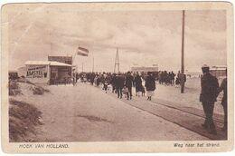 Hoek Van Holland De Weg Naar Het Strand J1937 - Hoek Van Holland