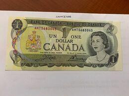 Canada One Dollar Uncirc. Banknote 1973 #6 - Canada