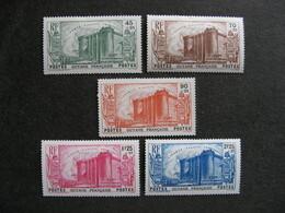 Guyane: TB Série N°152 Au N°156, Neufs X  . - Ungebraucht