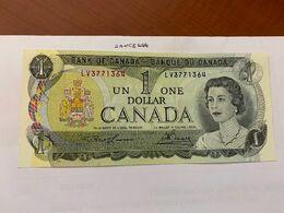 Canada One Dollar Uncirc. Banknote 1973 #7 - Canada