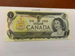 Canada One Dollar Uncirc. Banknote 1973 #8 - Canada
