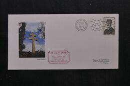 FRANCE - Enveloppe De L'Inauguration Du Mémorial Du Général De Gaulle En 1972 De Colombey Les Deux Eglises - L 71007 - 1961-....
