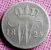 NEDERLAND :  25 CENT 1825 KM 48 MOOIE STAAT - [ 3] 1815-… : Royaume Des Pays-Bas