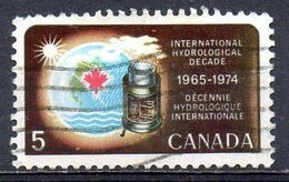 CANADA. N°402 Oblitéré De 1968. Hydrologie. - Water