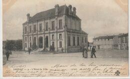 DEPT 16 : Précurseur édit. C C C C N° 9 : Jarnac L'hôtel De Ville - Jarnac