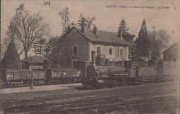 DOYET Gare De Doyet La Presle Locomotive - France