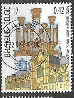 OCB Nr 2927 Mons Orgel Orgue    -  Centrale Stempel Halle - Bélgica