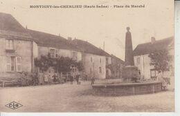 MONTIGNY LES CHERLIEU - Place Du Marché  PRIX FIXE - Andere Gemeenten