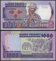 Madagaskar - Madagascar 1000 Ariary (1983-87) Pick 68 UNC (1)    (14370 - Bankbiljetten