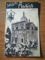 FAVARA - SALUTI DA - IL DUOMO - 1925 - Agrigento