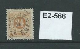 Sweden 1872 Without Posthorn 24ö - Gebraucht