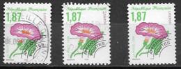 240 -  Oblitérés   (3  Timbres) - 1989-....