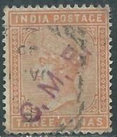 1882-90 INDIA EMPIRE USED SG 94 - RD3-7 - 1882-1901 Keizerrijk