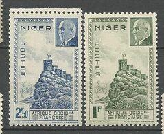 NIGER N° 93 Et 94  NEUF** LUXE SANS CHARNIERE  / MNH - Ungebraucht