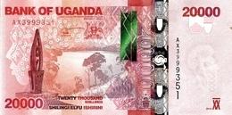UGANDA P. 53c 20000 S 2015 UNC - Oeganda