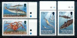 Süd-Georgien - South Georgia 2001 - Michel Nr. 327 - 330 ** - Oceania (Other)