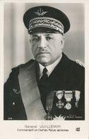CP : Portrait Militaire - Général VUILLEMIN - Commandant En Chef Des Forces Aériennes (BP) - War, Military