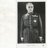 CP : Portrait Militaire - Général GAMELIN Par Studio Harcourt - (BP) - War, Military