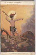 CPA Les Chansons De France - Maurice Boukay - La Chasse Aux Fauves - Vignette Général Sarrail - War 1914-18