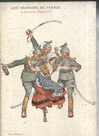 CPA Les Chansons De France - Maurice Boukay - Les Trois Uhlans - Vignette Général De Castelnau - War 1914-18