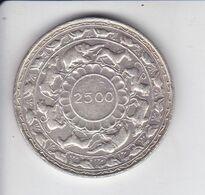 MONEDA DE PLATA DE LA INDIA DE 5 RUPIAS DEL AÑO 1957 (COIN) SILVER,ARGENT. (ELEFANTE-ELEPHANT) - India