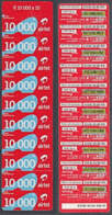 Tc043  ZAMBIA  Airtel Phonecard, 10 X K10,000, Multipack, USED - Zambia