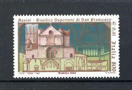 ITALIA :  Basilica Di San Francesco In  Assisi  - 1 Val. Da  £. 800 / 0,41 €  Del  25.09.1999 - 1991-00: Nieuw/plakker