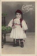 COSTUME GREC - Enfant - Grèce