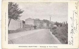 ROSIGNANO MARITTIMO - 1904 - Sobborgo Di Terra Rossa - Livorno