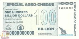 ZIMBABWE 100 BILLION DOLLARS 2008 PICK 64 UNC - Zimbabwe